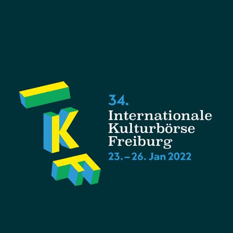 34. Internationale Kulturbörse Freiburg 2022, 23.–26. Jan 2022 (Logo)