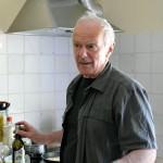 Pierre Favre kocht Jakobsmuscheln mit Absinthsoße