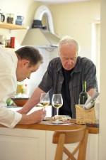 Dieter Ilg und Pierre Favre beim Vino Toscana