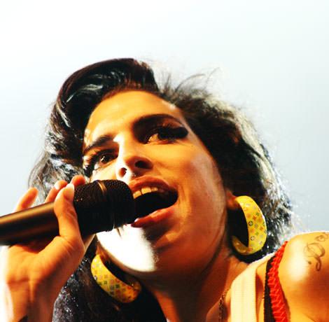 Sängerin Amy Winehouse