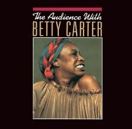 The Audience with Betty Carter (Cover)