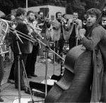 Barry Guy mit dem London Jazz Composers Orchestra in der DDR