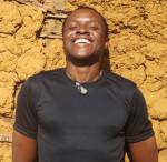 Beim Africa Festival auf der Offenen Bühne: Erik Aliania