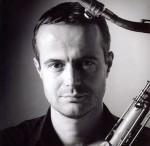 Saxofonist Gabriel Coburger