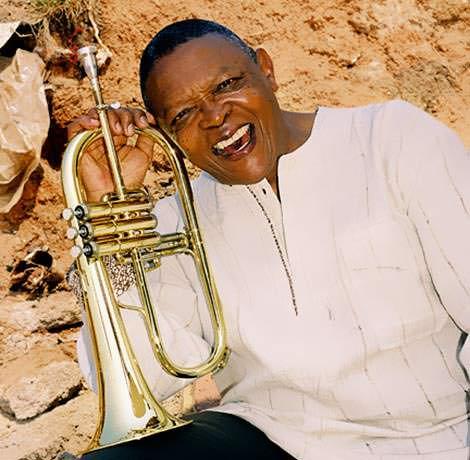 Trompeter Hugh Masekela