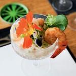 Garnelen-Palmherzen-Cocktail