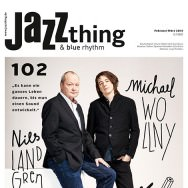 Jazz thing #102 Michael Wollny & Nils Landgren (Cover)