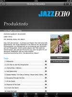 JazzEcho iPad App
