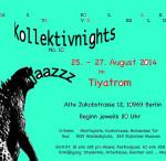 Die 10. Kollektiv Nights des Jazzkollektivs Berlin