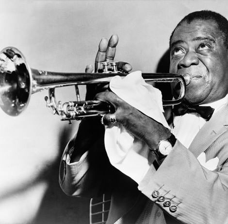Trompeter Louis Armstrong