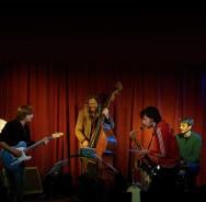 Max Andrzejewski's Hütte beim 'Neuen Deutsche Jazzpreis'