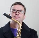 Saxofonist Max Nagl