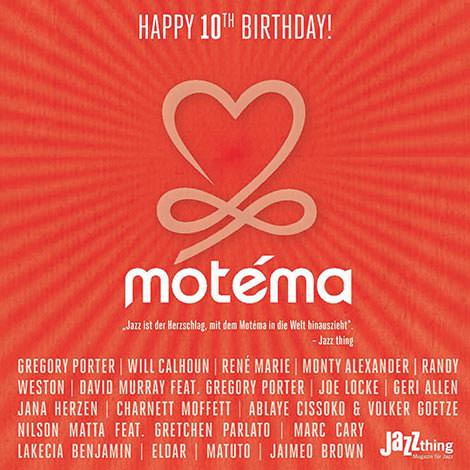 Motéma 10th Birthday Sampler (Cover)