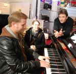 Besucher der Music Austria in Ried