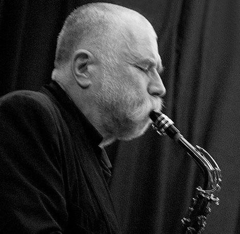 Saxofonist Peter Brötzmann