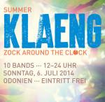 Am 6. Juli in Köln: Summer KLAENG