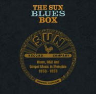 Zehn CDs in 'The Sun Blues Box'