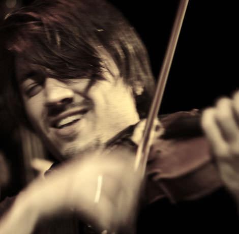 Der Jazzgeiger Tobias Preisig